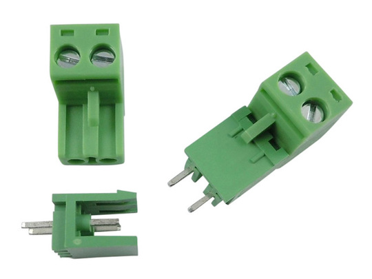 Together 2pin connector 5a screw terminal straight 5.08 split