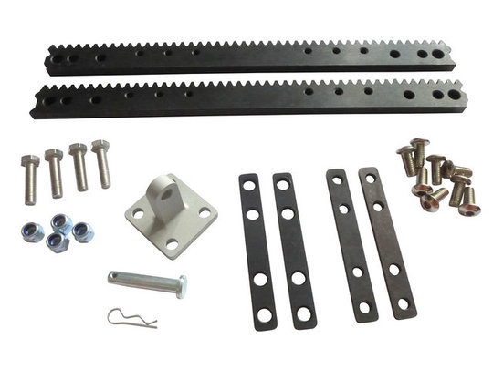 Accessories overview 6mm bracket 46t racks screws