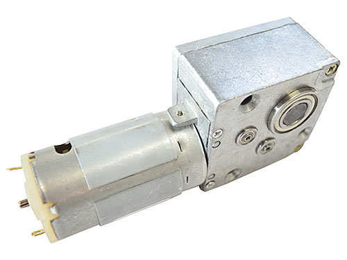 Gr wm1 gearmotor 12v dc electric geared worm motor high torque 500 10mm shaft 2017 version overview top