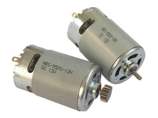 HRS-550S DC 36mm Motor (12V and 18V versions)
