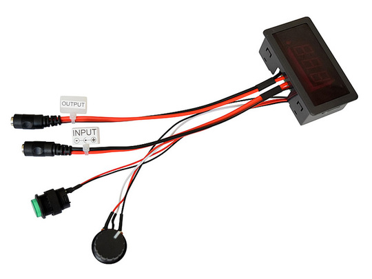 12v 24v pwm speed controller motor actuator 5a dc connectors lcd