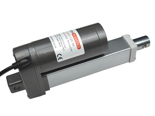 Gla1800 linear actuator 12v dc 180kg motor piston 100mm side
