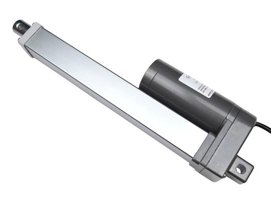 Gla1800 linear actuator 12v dc 180kg motor piston 200mm side