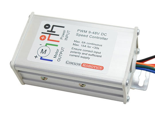 9-48V PWM DC Motor Speed Controller, up to 15A, Reversible