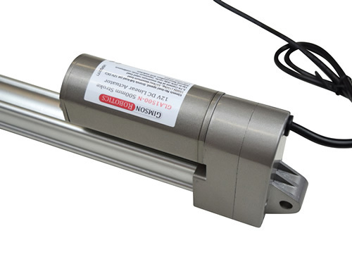 Gla1500 n 12v dc linear actuator low noise range 200mm compact high force 1500n robot drive motor piston2