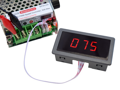 12v 24v 36v 20a 30a dc pwm speed controller electronic brushed motor control lcd 100 screen powered