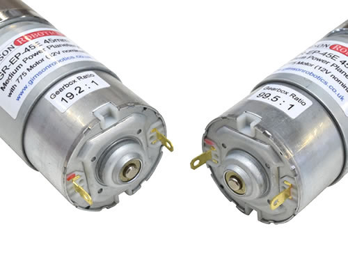 Gr ep 45e planetary gearmotor electric dc 12v dc nominal high torque drive compact powerful motor closeup