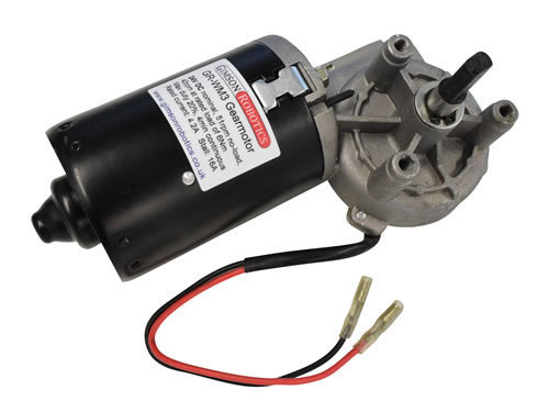 Gr wm3 24v dc electric worm motor right angle high torque 51rpm slow drive window