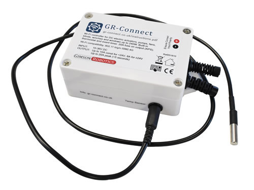 GR-Connect Wi-Fi Actuator and DC Motor Controller