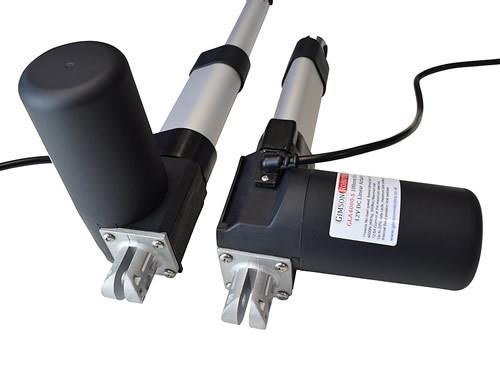Gla4000 s 12v dc linear actuator high force 400kg hatch automation door gimson robotics mounting bracket orientation perpendicular motor 500x375