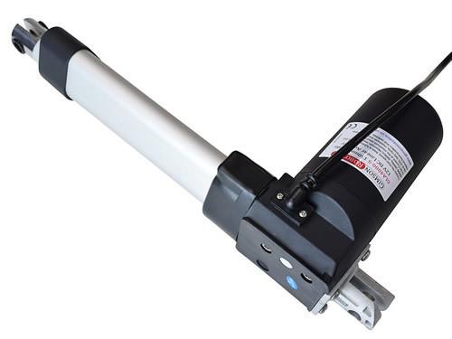 Gla4000 s 12v dc linear actuator high force 400kg hatch automation door gimson robotics side view 150mm stroke 500x375