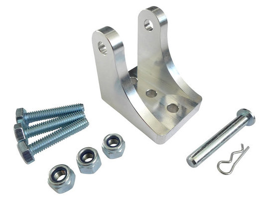 CNC Milled Aluminium Linear Actuator Mounting Bracket