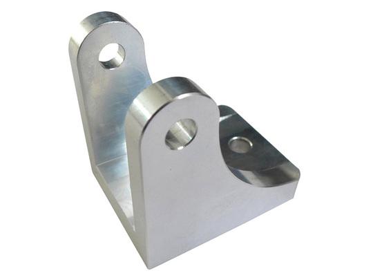 Aluminium 6mm actuator piston bracket cnc top