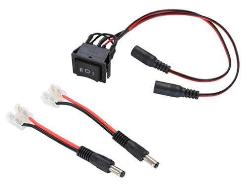 Rocker-Switch Harness for Linear Actuators and other DC motors
