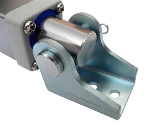 8mm steel bracket actuator front mount example