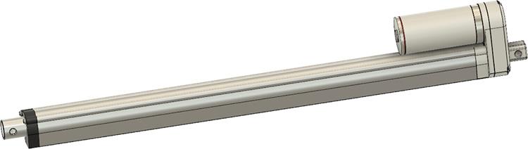 GLA600-S 700mm Stroke CAD Model