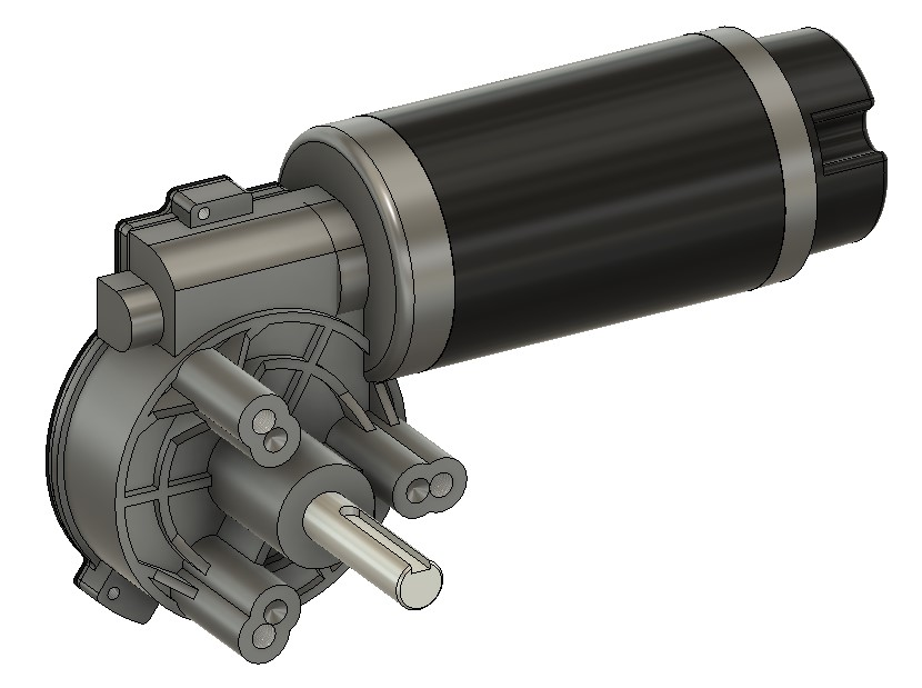 GR-WM5 CAD rendering, Fusion 360, Contact for models
